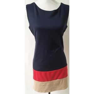 one clothing Dresses - Blue /Tan Dress Size Medium